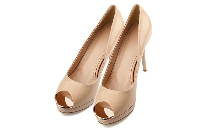 Peep-toes