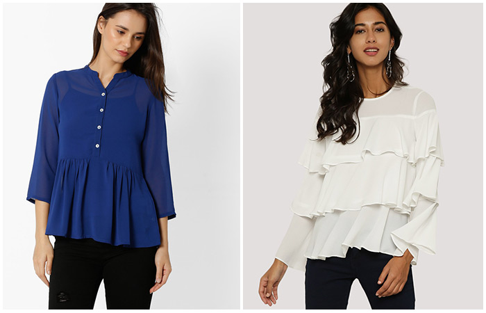 Ruffle-Or-Peplum-Tops