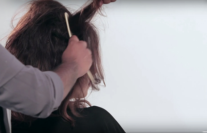 Tease-your-hair-to-create-volume