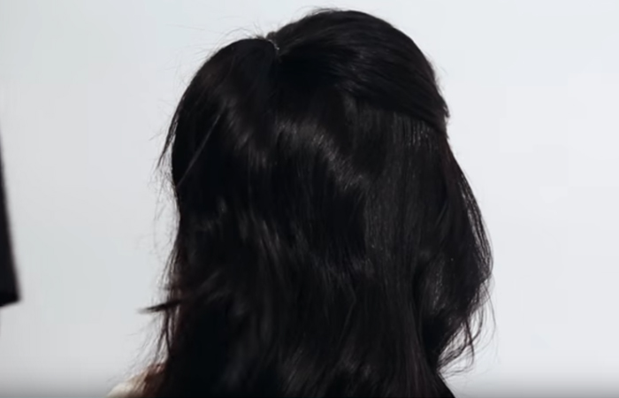 Tie-half-of-your-hair-into-a-ponytail