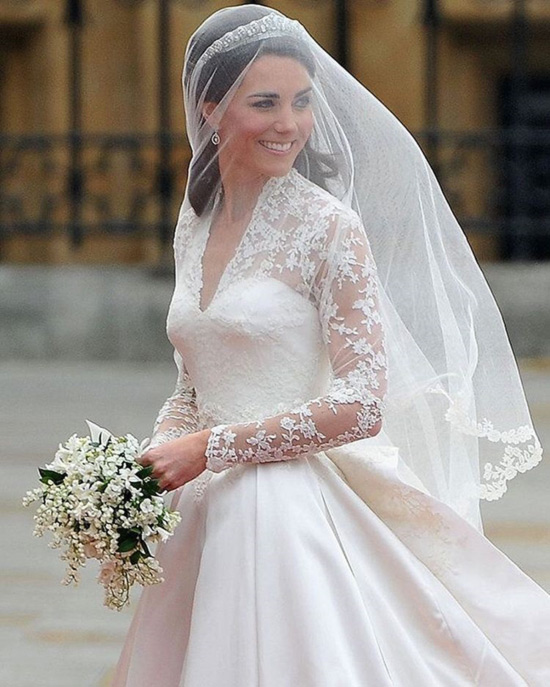 1. Kate Middleton's Wedding Dress