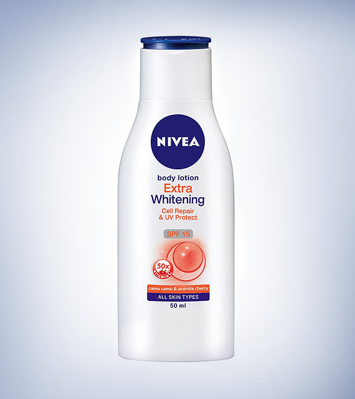 Nivea Extra Whitening Body Lotion (SPF 15) Review