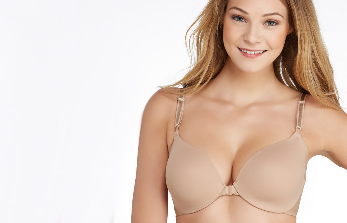 Types Of Bra - Front Open Bra