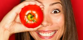 4 Amazing Beauty Benefits Of Tomatoes! It Treats Acne Too.