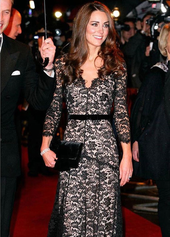 8. Kate In A Long Black Dress