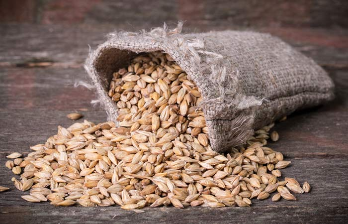 Fiber Rich Foods For Weight Loss - Barley