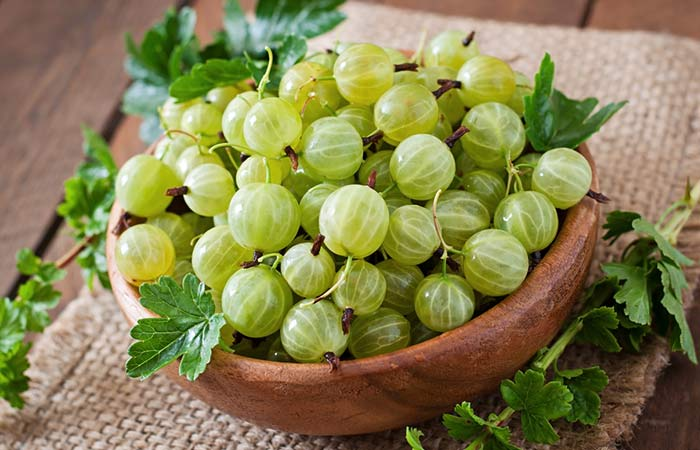Fiber Rich Foods For Weight Loss - Gooseberries