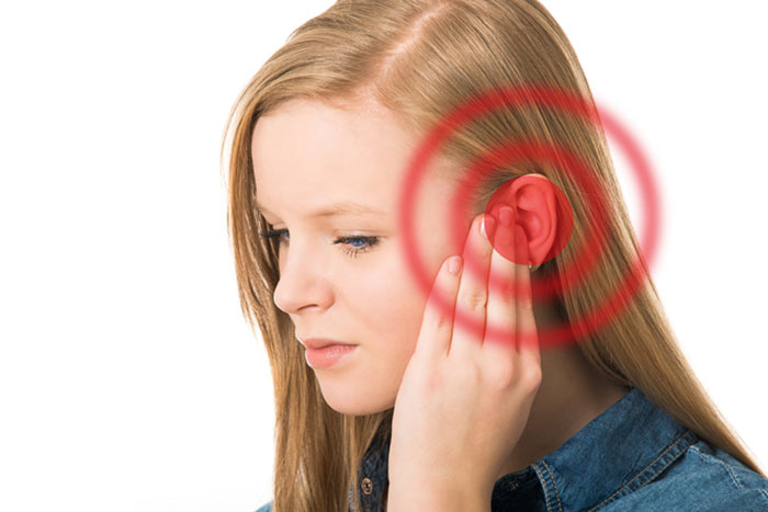 Infected ears