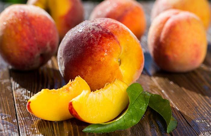 Fiber Rich Foods For Weight Loss - Peach