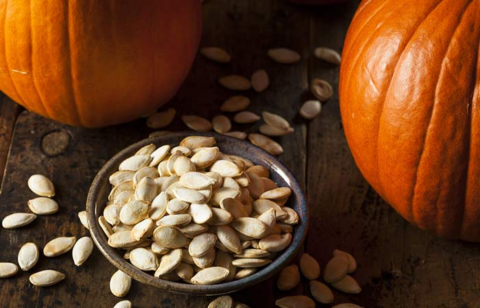 Fiber Rich Foods For Weight Loss - Pumpkin Seeds