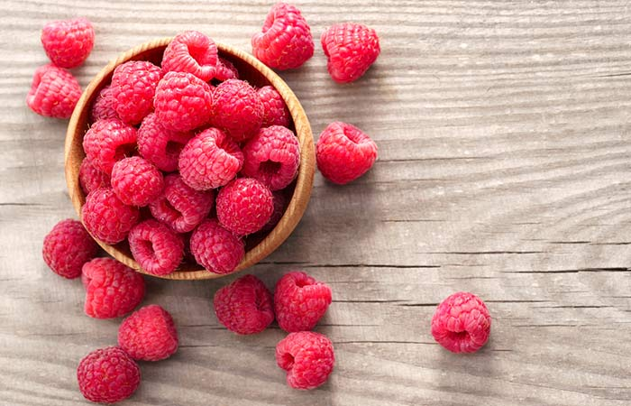 Fiber Rich Foods For Weight Loss - Raspberry