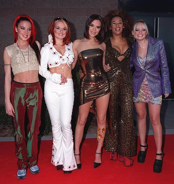 1. Spice Girls