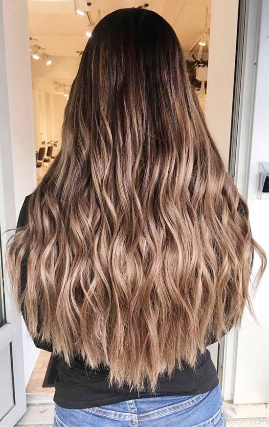 30 breathtaking ideas for styling your caramel highlights rose gold and caramel highlights pmusecretfo Image collections