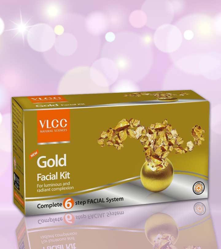 VLCC Gold Facial Kit Review