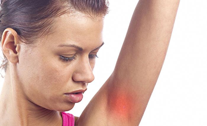 2) Using A Deodorant On Sensitive Skin