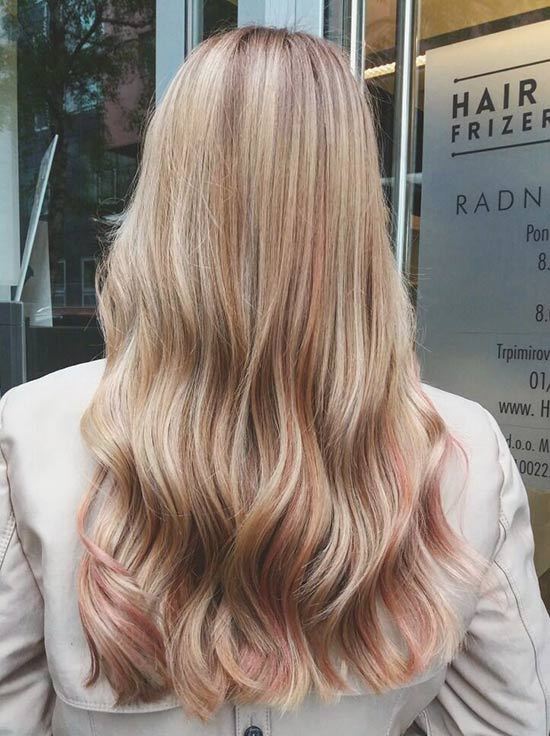 30 breathtaking ideas for styling your caramel highlights dusty pink and caramel highlights pmusecretfo Image collections