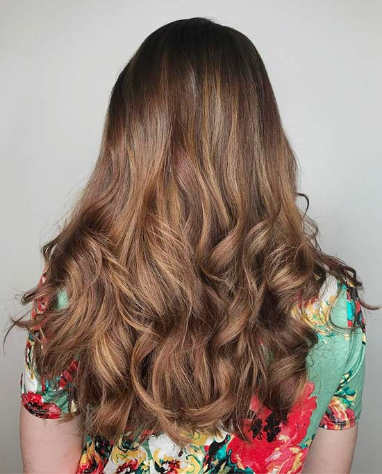 25. Brownie Caramel Highlights