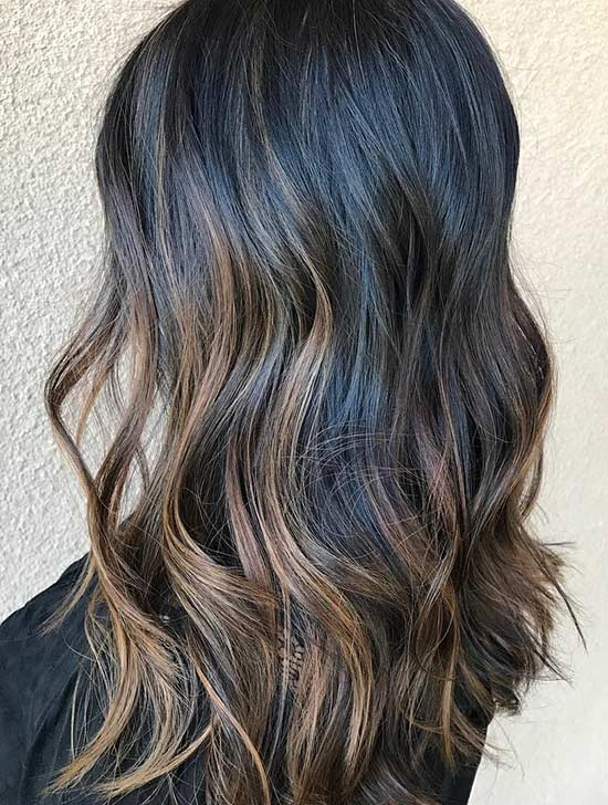 27. Cool Toned Caramel Highlights