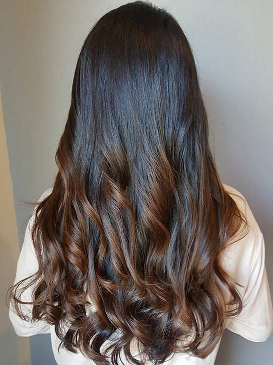28. Intense Caramel Highlights
