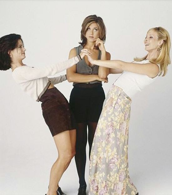 3. Monica, Phoebe Or Rachel