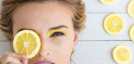 Rub A Lemon Over Your Eyebrows For Four Weeks Straight. The Effect On Your Looks Is Incredible