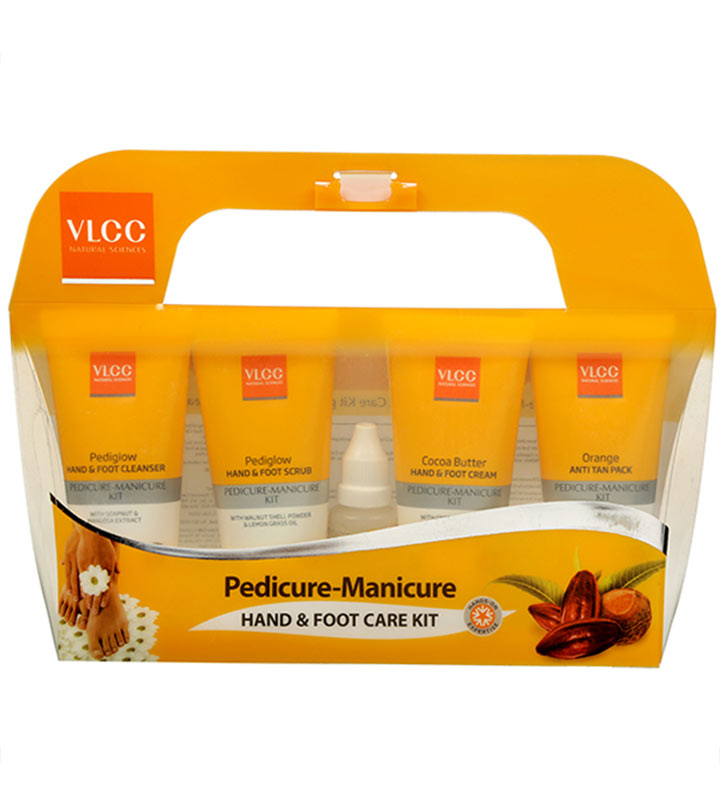 VLCC Pedicure Manicure Kit Review