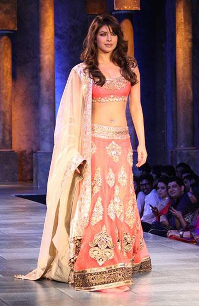 5. Priyanka Chopra In Lehenga Choli