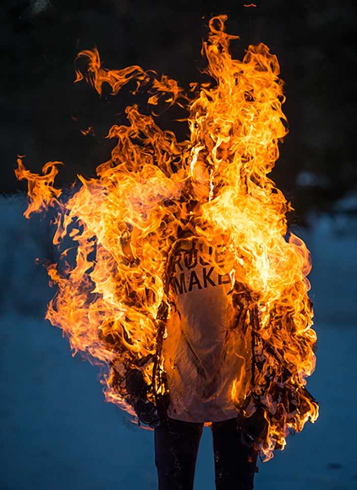 #8 Burning Humans