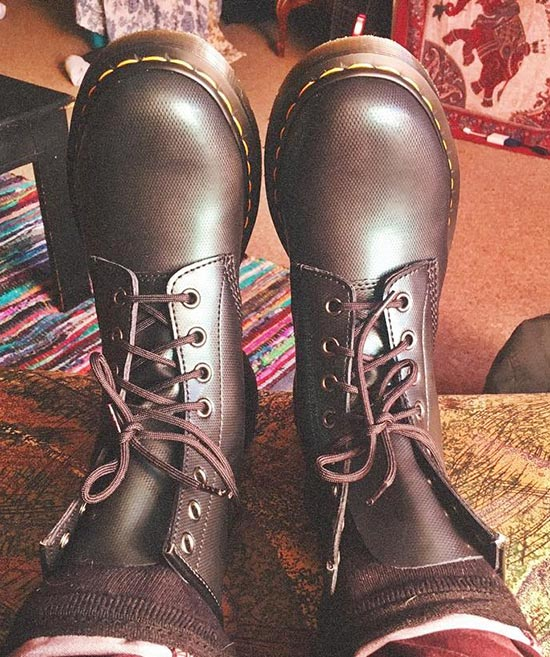 8. Combat Boots, Wait They Are THE Doc Martens