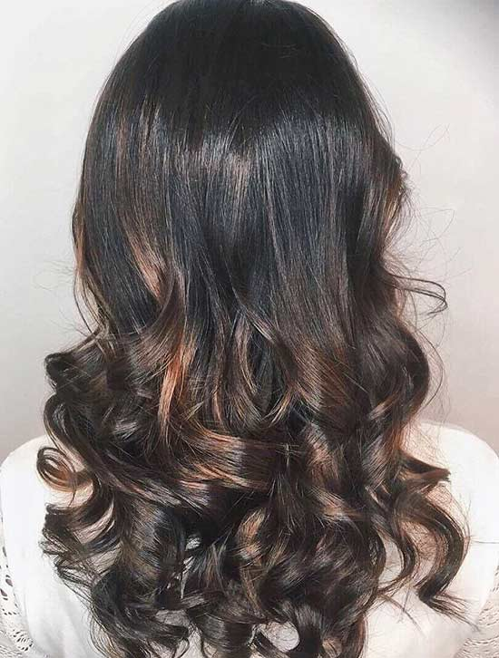 8. Mahogany Caramel Highlights