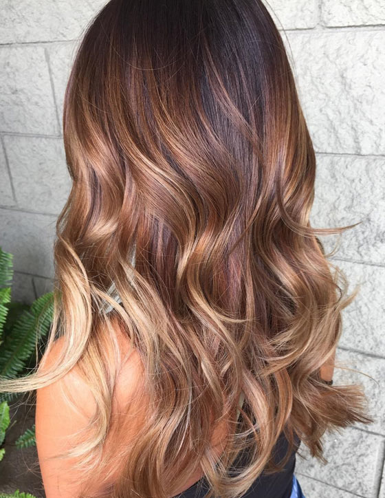 Auburn-Honey-Blonde-Balayage