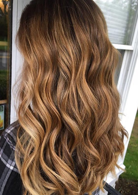 Bronze-and-Honey-Blonde-Balayage