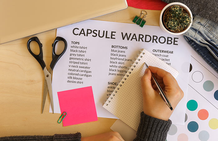 How To Build A Capsule Wardrobe – Capsule Wardrobe Checklist