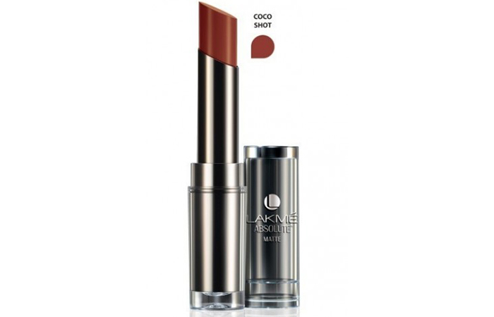 Lakme Absolute Sculpt Studio Hi-Definition Matte Lipstick Shades - Coco Shot