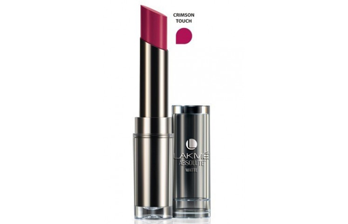 Lakme Absolute Sculpt Studio Hi-Definition Matte Lipstick Shades - Crimson Touch