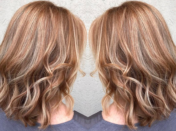 Strawberry Blonde Highlights On Brown Hair Brown Hairs