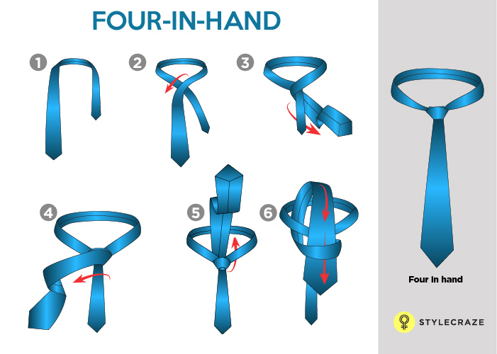 FOUR IN HAND TIE