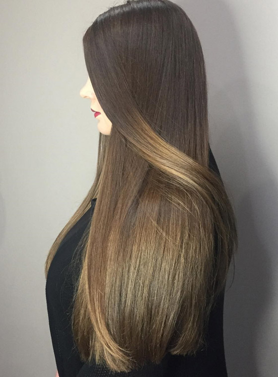 Glossy-Honey-Blonde-Ombre