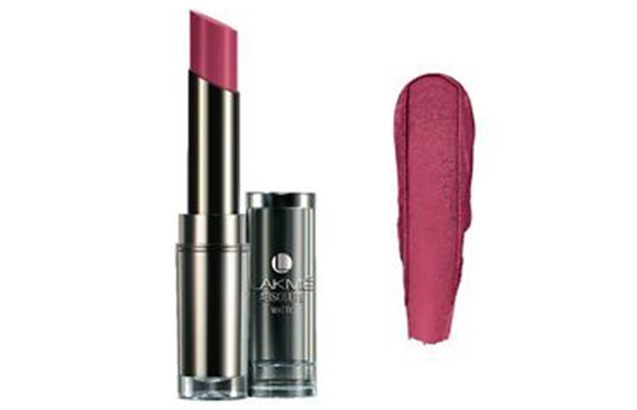 Lakme Absolute Sculpt Studio Hi-Definition Matte Lipstick Shades - Mauve Fix