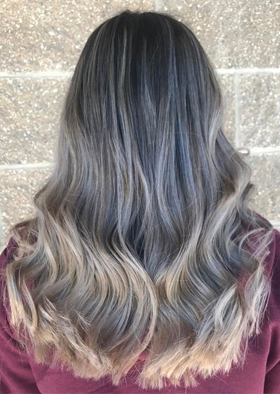 30 ash blonde hair color ideas that youll want to try out right away moonlight ash blonde balayage ombre urmus Image collections