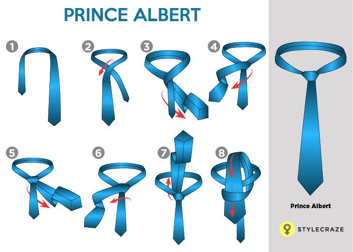 PRINCE ALBERT TIE