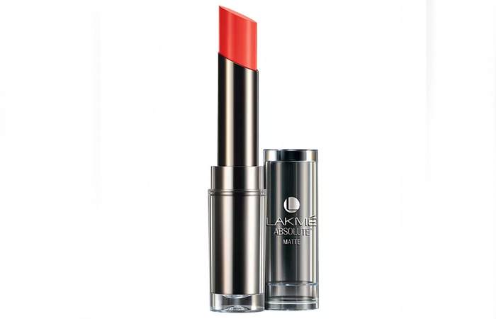 Lakme Absolute Sculpt Studio Hi-Definition Matte Lipstick Shades - Peach Pout