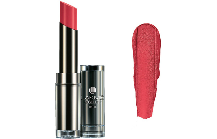 Lakme Absolute Sculpt Studio Hi-Definition Matte Lipstick Shades - Pink Flash