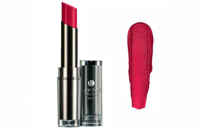 Lakme Absolute Sculpt Studio Hi-Definition Matte Lipstick Shades - Pink Passion