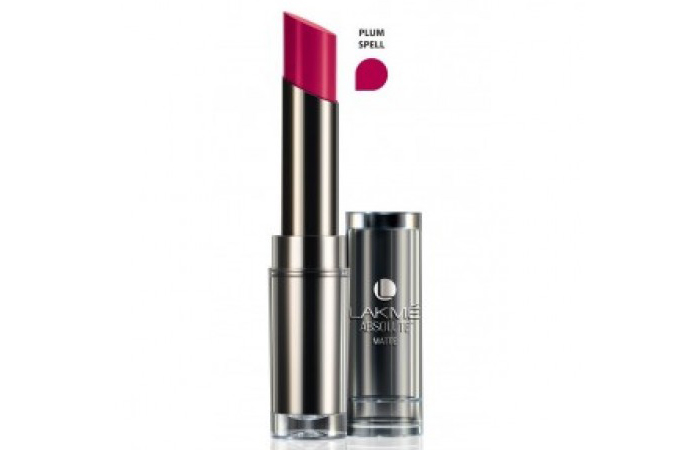 Lakme Absolute Sculpt Studio Hi-Definition Matte Lipstick Shades - Plum Spell