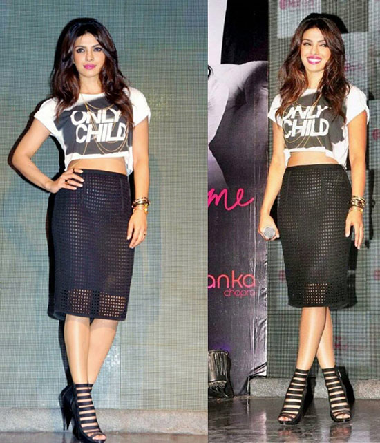 Priyanka Chopra In Crop Tank