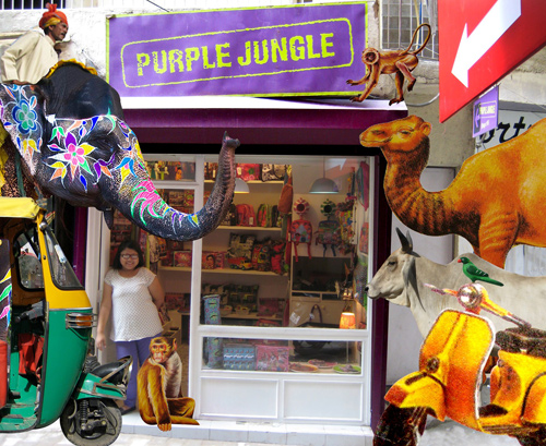 Purple-Jungle