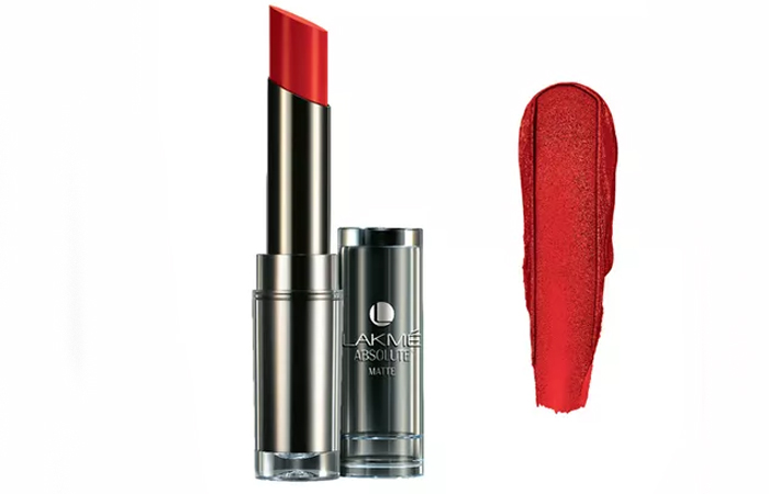 Lakme Absolute Sculpt Studio Hi-Definition Matte Lipstick Shades - Red Envy