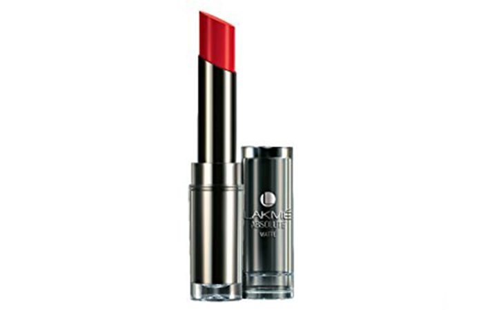 Lakme Absolute Sculpt Studio Hi-Definition Matte Lipstick Shades - Red Rush