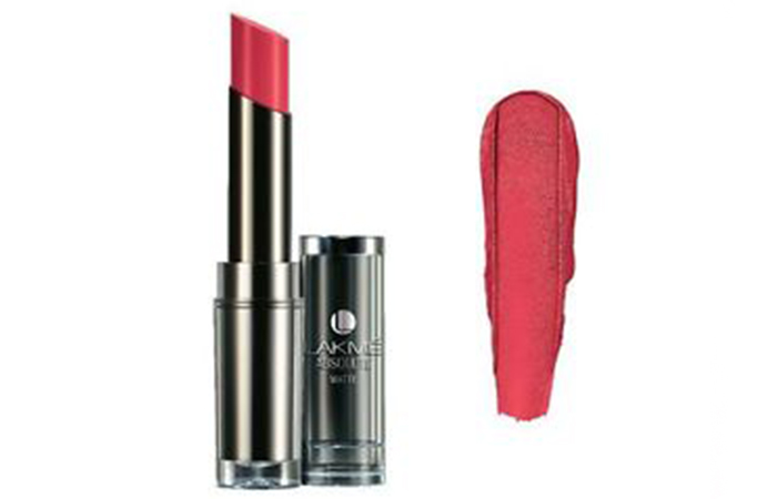 Lakme Absolute Sculpt Studio Hi-Definition Matte Lipstick Shades - Rose Bloom